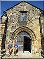 TA0489 : St Mary's south door by John S Turner