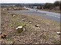 SK5130 : West Leake junction - 3 by Alan Murray-Rust