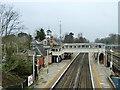 TQ1391 : Hatch End station by Robin Webster