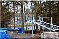 NT3038 : New footbridge over the Tweed, Cardrona by Jim Barton