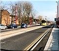 SJ9098 : Tram at Droylsden by Gerald England