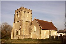SU4980 : St Mary's Church in East Ilsley by Steve Daniels