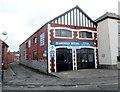 ST1871 : Glamorgan Motors Llandough Service Station, Penarth by Jaggery