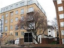 TQ3187 : New flats, Portland Rise by Alex McGregor