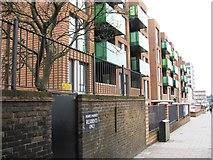 TQ3187 : New flats, Seven Sisters Road by Alex McGregor