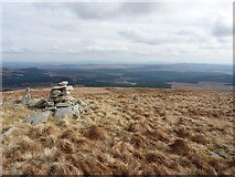 NX5167 : Across the Cairnsmore of Fleet National Nature Reserve by Richard Law