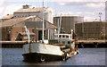 "T2573 : The ""Tredagh"" at Arklow (1988) by Albert Bridge"