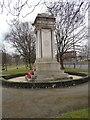 SJ8597 : Ardwick Green War Memorial W side (Egypt) by Gerald England