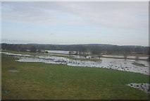 SP2180 : Flooding, River Blythe by N Chadwick