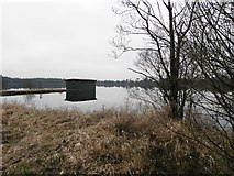 H5776 : Angler's hut, Loughmacrory by Kenneth  Allen