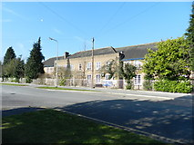 SJ8587 : Kingsway School, Cheadle by Peter Barr