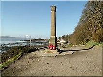 NT0783 : War memorial, Limekilns by Euan Nelson