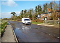 SU4981 : Groundwater Flooding On The Road by Des Blenkinsopp