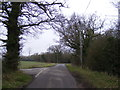 TM4270 : Lymballs Lane, Darsham by Adrian Cable
