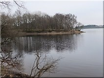 SD6212 : Crosse's Creek, Lower Rivington Reservoir by Jim Barton