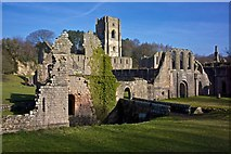 SE2768 : Fountains Abbey by Paul Buckingham