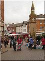 SD4108 : Ormskirk Market by David Dixon