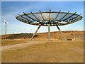 SD7923 : Halo, Panopticon above Haslingden by David Dixon
