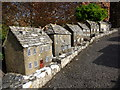 SY9582 : Corfe Castle: West Street in the model village by Chris Downer