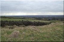 SD7513 : Dry stone wall above Top o'th' Knotts by Philip Platt
