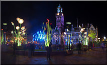 SE1632 : Garden Of Light, City Park, Bradford by Phil Champion