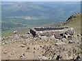 SH7113 : Summit Shelter Cadair Idris - Penygadair by Rude Health