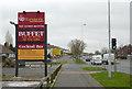 SO9295 : Birmingham New Road in Lanesfield, Wolverhampton by Roger  Kidd
