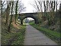 SK3925 : Melbourne station road bridge by Richard Green