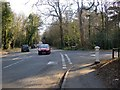 TQ1461 : Junction of Sandy Lane with Copsem Lane, showing location of a Coal Tax post by Stefan Czapski