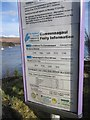 NN0975 : Camusnagaul ferry timetable by Richard Webb