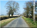 SJ4870 : Barnhouse Lane looking north by Colin Pyle