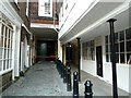 TQ3181 : Middle Temple Lane, view northwards by Rob Farrow