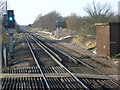 TQ9563 : View from the foot crossing at Teynham station by Marathon