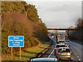 NY2767 : Eastbound A75 near Rigg by David Dixon