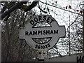 ST5602 : Rampisham: signpost detail by Chris Downer