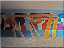 J3574 : Cranes Mural, East Belfast by Robert Ashby