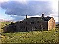 SD9831 : Derelict farm buildings at Coppy, above Crimsworth Dean by Phil Champion