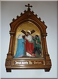 SP4540 : St John the Evangelist, Banbury: 4th Station of the Cross by Basher Eyre