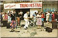 SW8244 : Truro Folk Festival 1988 by Chris Holifield