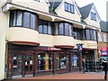 SP4540 : Businesses in Market Square, Banbury by Paul Gillett