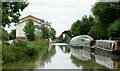 SP1955 : Canal and boatyard in Stratford-upon-Avon, Warwickshire by Roger  Kidd