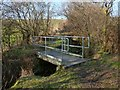 NS4081 : Footbridge over burn by Lairich Rig