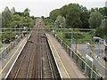 TL8619 : Kelvedon (low level) railway station (site) by Nigel Thompson