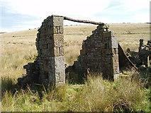 SD9433 : Ruin at Greave. Widdop, Hebden Bridge by Wayne Ogden