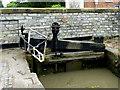 SP2055 : Lock Gate at Lock No 53, Stratford-upon-Avon by Roger  Kidd