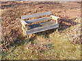 TM4468 : Seat on Westleton Common by Adrian Cable