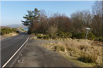 NS3778 : Footpath meeting Cardross Road by Lairich Rig
