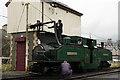 SH6945 : 'Earl of Merioneth' at Blaenau Ffestiniog, Gwynedd by Peter Trimming