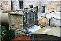 SO7263 : Shelsley Walsh watermill - penstock by Chris Allen