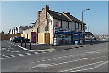 ST1067 : Crescent Corner Newsagents, Barry by Jaggery